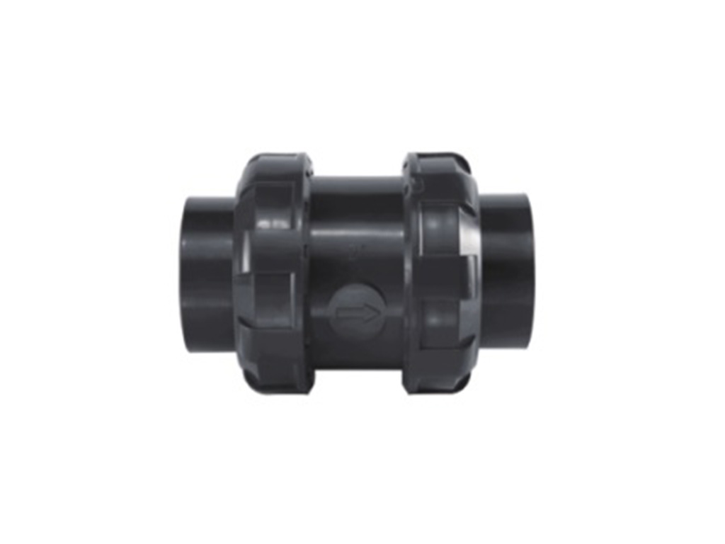 UPVC True Union Check Valve for Water supply pipeline