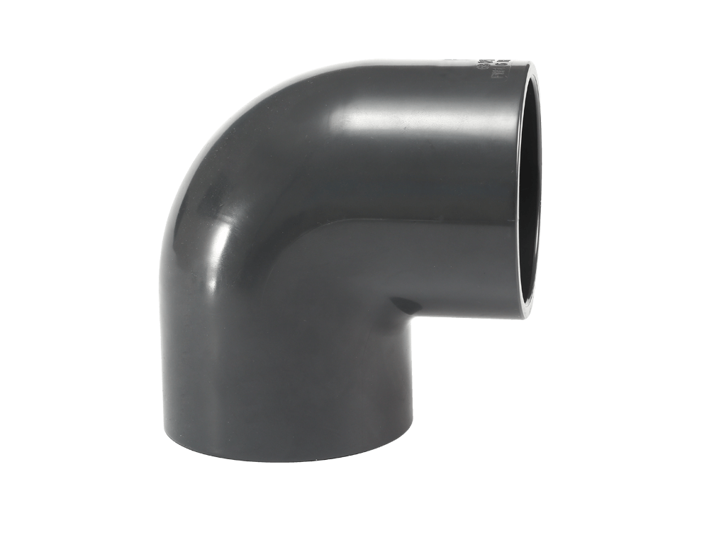 UPVC 90 degree elbow fittings for connecting pipe
